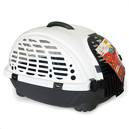 Choler Pet Carrier Airline Approved Portable Pet Puppy Cat Dog Out Cage (white)