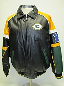 2013 Green Bay Packers Leather Jacket by NFL