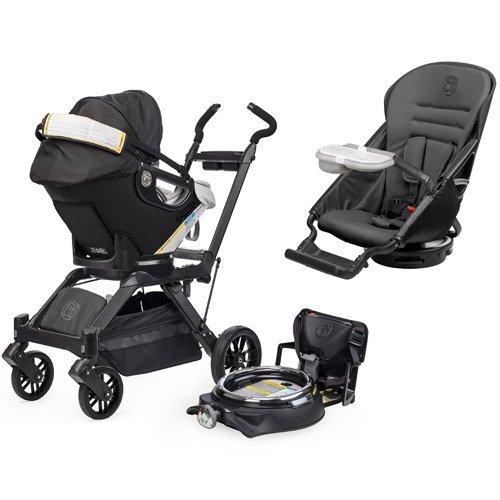 Orbit Baby Infant Travel Collection G3 - Black / Slate front-624592