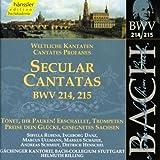 Edition Bachakademie Vol. 68 (Weltliche Kantaten BWV 214-215)