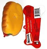 Milk-Bone Vinyl Squeaky Chew Dog Toy – Hot Dog (1 Toy)