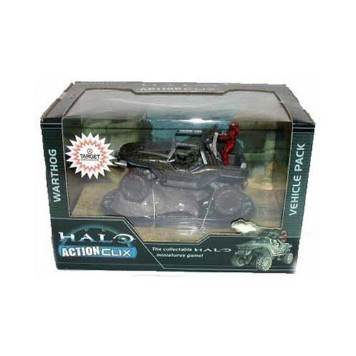 Buy Low Price WizKids HALO 3 Exclusive Actionclix Warthog Vehicle Pack Figure (B000X6E6C4)