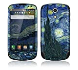 Starry Night Decorative Skin Cover Decal Sticker for Samsung Epic 4G SPH D700 Cell Phone