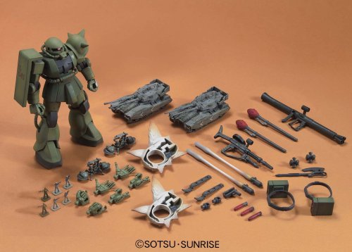 HG UCHG 1/144 MS-06ザク地上戦セット (機動戦士ガンダム MS IGLOO)