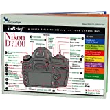 Blue Crane Digital Nikon D7100 inBrief Laminated Reference Card  (zBC553)