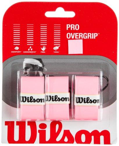 Wilson Pro Overgrip–Set von 3grips für Tennisschläger