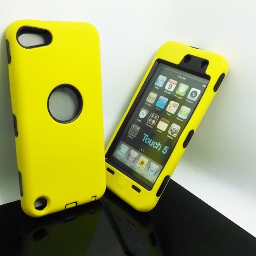 Deluxe Hybrid Rubber Silicone Cover Case For iPod Touch 5 5th 5G,Hard Soft High Impact Hybrid Armor Case Combo for Apple iPod Touch 5 5th Generation, Hybrid 3 PIECE ZEBRA HARD PROTECT CASE COVER SKIN FOR IPOD TOUCH 5 Generation ipod touch 5 case e lv ipod touch 5 case hard and soft hybrid armor defender sports combo case for apple ipod touch 5 itouch 5th generation with 1 screen protector 1 black stylus 1 water resistant bag and 1 e lv microfiber digital cleaner