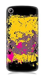 HTC Desire 828 3Dimensional High Quality Designer Back Cover by 7C