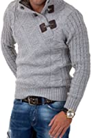 Carisma Strickpullover mit Knopfleiste Pullover 7081