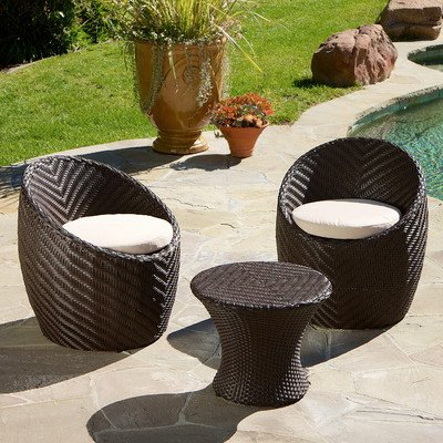 Best Selling La Mesa 3-Piece Chat Set