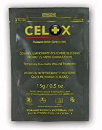 Celox Hemostatic Granules 15g Packet