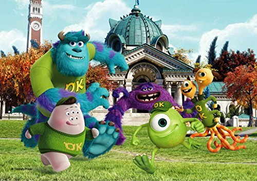 Disney Pixar Monsters University 3 Piece Room In A Box: Disney Pixar Monsters University 500 Piece Puzzle (Mu002