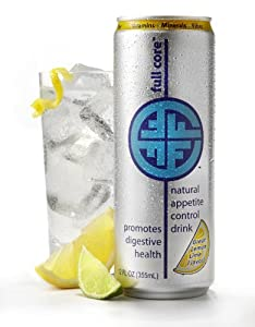 "FULL CORE - Appetite Control and Vitamin ""Ready to Drink"" Beverage - Instantly Effective and Pre-Biotic - Lemon-Lime Flavor"