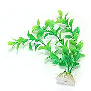 Sodial r verte plante artificielle aquatique en plastique for Amazon plante artificielle
