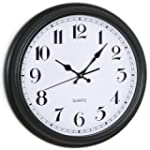 FHE Group Classic 16-Inch Wall Clock,...