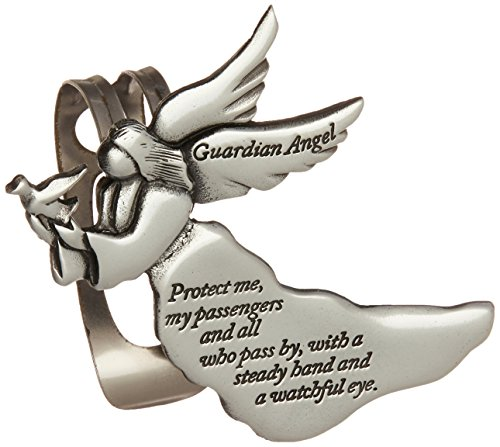 Cathedral Art KVC238 Angel Visor Clip, Guardian Angel, 2-3/8-Inch (Guardian Angel Clip compare prices)