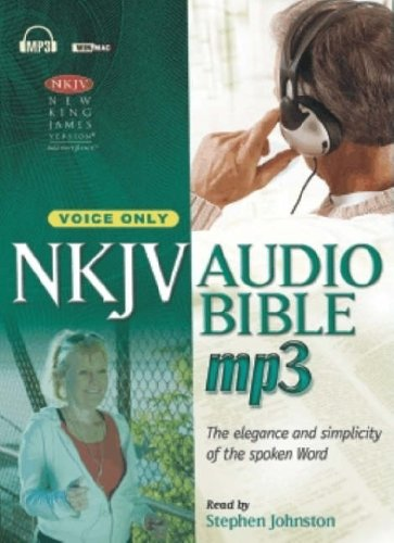 NKJV AUDIO BIBLE, MP3. VOICE ONLY