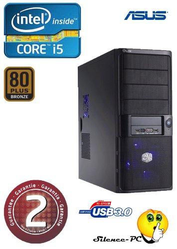 ANKERMANN-PC i5 3570K (4x3,40GHz) | NVIDIA GeForce GTX 650 2GB | 8GB RAM DDR3 | 2,0TB HDD SATA3 | Cardreader 75in1 | MB ASUS P8B75-M USB3.0 | 24xDVD-Writer | USB 3 | Netzteil Coolermaster 450W 80+ Bronze 5J. Garantie | Case Coolermaster ELITE 335 | PC mit 2 Jahre echte GARANTIE