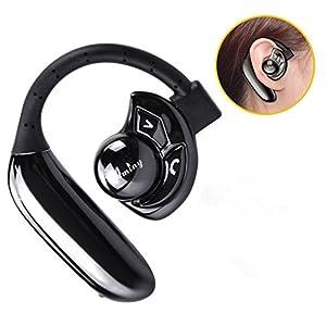 Bluetooth イヤホン 高音質 ワイヤレス ヘッドホン 無線 片耳 ブルートゥース ヘッドセット