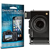 Smart Glaze® Crystal Clear Premium LCD Screen Protectors Packs With Polishing Cloth & Application Card For 3.0