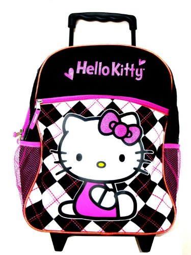 Sanrio Hello Kitty Rolling Backpack