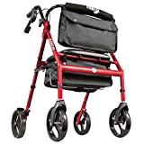 Hugo Mobility 700-961 Elite Rollator Walker with Seat,...