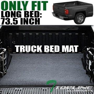 topline-autopart-grey-black-truck-bed-cargo-box-trunk-floor-rug-mat-carpet-05-16-toyota-tacoma-6-ft-