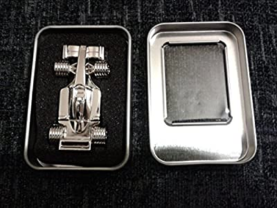 Generic 8GB Stainless Steel Formula 1 F1 Car Memory Stick USB 2.0 Flash Drive. Presented In A Magnetic Gift Box.