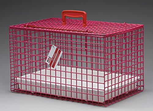 mdc-premium-wire-cat-carrying-basket-pink-6-outstanding-colours-plastic-coated