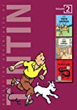 Georges Remi Hergé The Adventures of Tintin: Volume 2 (Compact Editions): Tintin in America / The Cigars of the Pharao / The Blue Lotus: