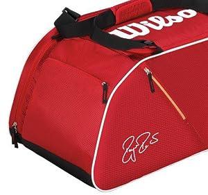 Wilson Red Racket Equipment Duffle Bag RRP £60 by Wilson