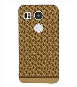 PrintDhaba Pattern D-1585 Back Case Cover for LG NEXUS 5X (Multi-Coloured)