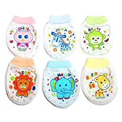 Baby Station Mittens Set of 6