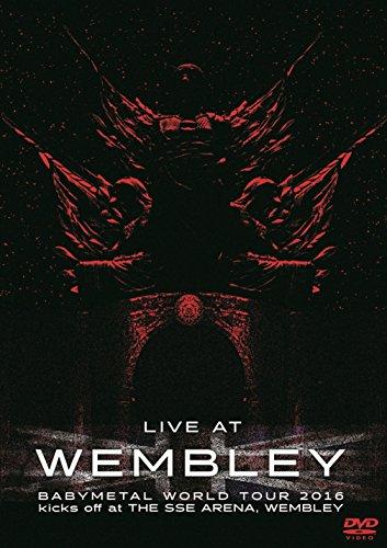 LIVE DVD 「LIVE AT WEMBLEY」 BABYMETAL WORLD TOUR 2016 kicks off at THE SSE ARENA, WEMBLEY