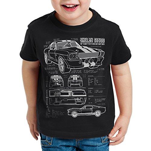 style3-gt-500-cianotipo-camiseta-para-ninos-t-shirt-fotocalco-azul-colornerotalla152