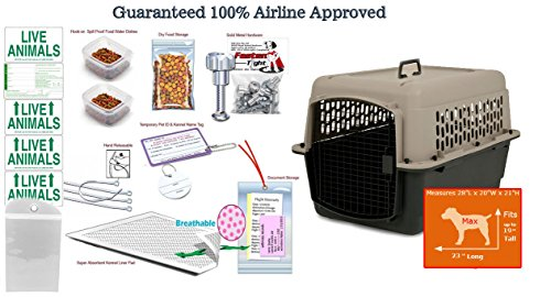 28″Lx21″H Airline Approved Pet Travel Carrier Package