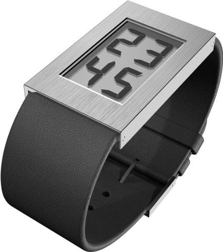 Rosendahl - 43280 - Montre Homme - Quartz - Digitale - Bracelet Cuir Noir