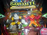 Gormiti Series 2 Action Figure 2-Pack Stonethrower and Nightmare of Fire