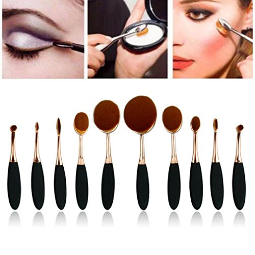 fortan-10pc-set-toothbrush-eyebrow-foundation-eyeliner-lip-oval-brushes