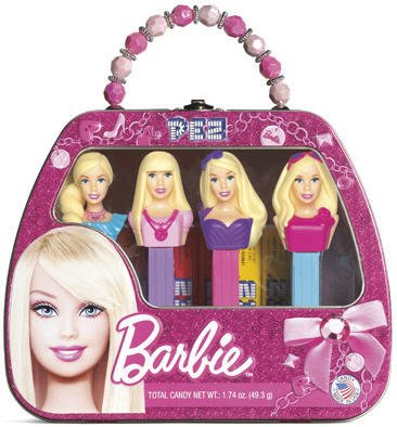Barbie Pez Set Tin