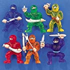 48-pc Toy Ninja Warriors