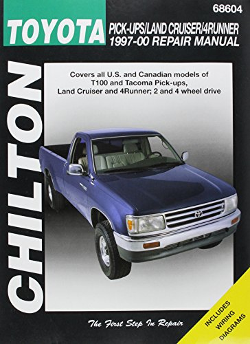 Chilton's Toyota Pick-ups/Land Cruiser/4Runner 1997-00 Repair Manual (Texas Land Owner compare prices)