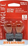 SYLVANIA 3157NA/4157NA Long Life Miniature Bulb, (Pack of 2)