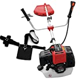 Rotfuchs® BC52 red brushcutter with 3 hp and 52cm³ GS
