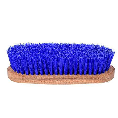 MING Hard Hair Brush with Wood Paddle for Horse Mane & Tail Cleaning Bath (Ming Hair Brush compare prices)