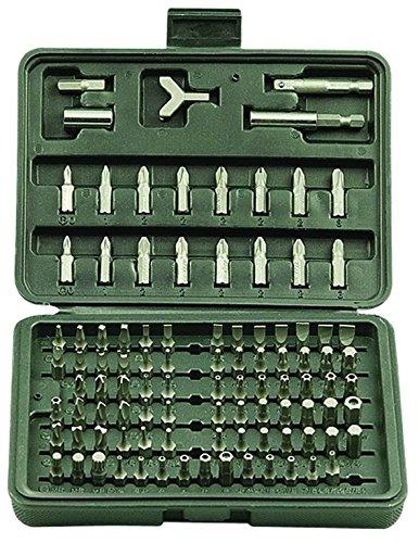 Vigor 38472-10 CR V Inserti per Avvitatori, Set 100 Pezzi