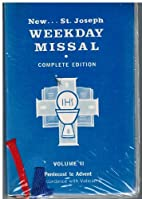 New Saint Joseph Weekday Missal, Vol. II ,…