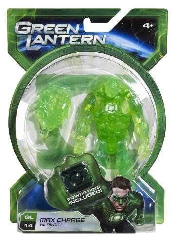 Green Lantern Movie 4 Inch Action Figure GL 14 Max Charge Kilowog - 1