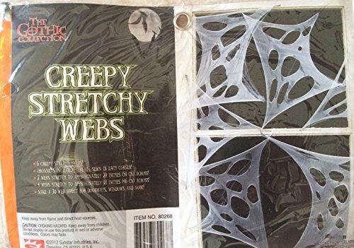 Stretchy Spider Webs