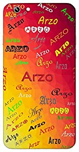 Arzo (Wish Dream Desire) Name & Sign Printed All over customize & Personalized!! Protective back cover for your Smart Phone : Samsung Galaxy E-7